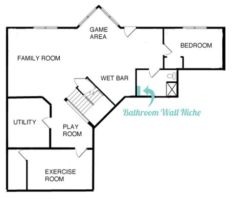 basement bathroom floor plan bathroom floors