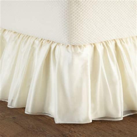 sheer bed skirt custom made bedskirts bedding