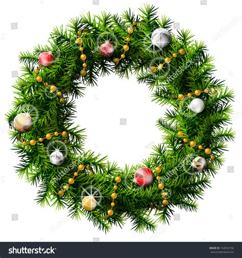 decorative branches with beads christmas wreath with decorative beads and balls wreath