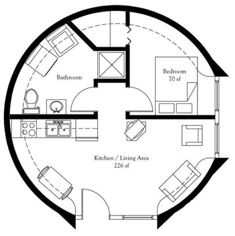 concrete dome home floor plans