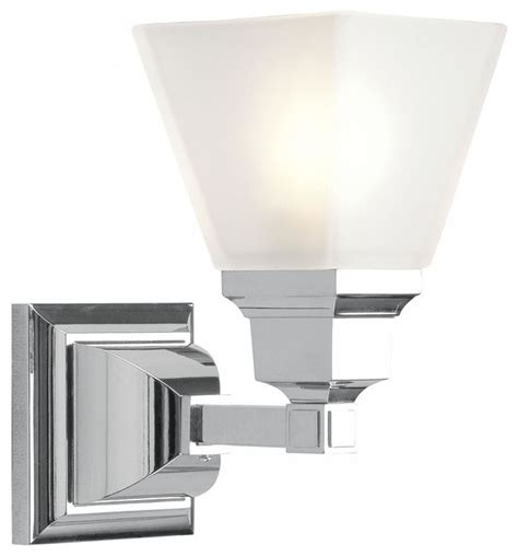 Transitional Bathroom Lighting Chrome Bathroom Sconce Transitional Bathroom Vanity Lighting By We Got Lites