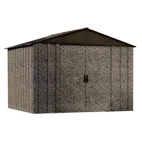 Home Depot Arrow Shed by Arrow Camo 10 Ft X 8 Ft Steel Storage Shed Cam108 The Home Depot