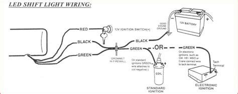 autometer shift light wiring diagram wiring diagram manual