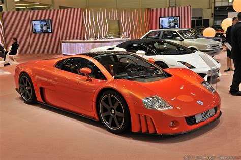 2001 Volkswagen W12 Nardo Concept Supercars