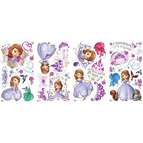 princess sofia wall stickers sofia the wall stickers 37 decal disney princess godmother scrapbook ebay