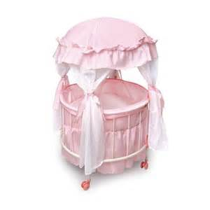 Round Bassinet With Canopy by Round Baby Cribs Beds Bassinet
