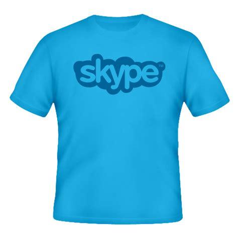T Shirt Skype skype shirt icon png clipart image iconbug