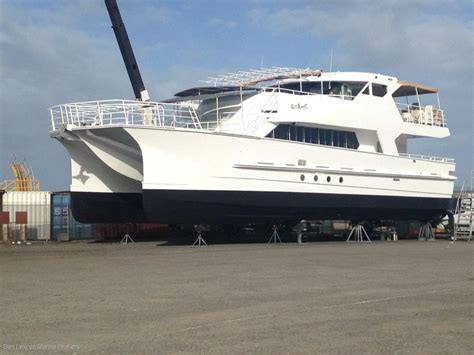 used catamaran hull for sale used denis walsh catamaran ferry charter business for sale