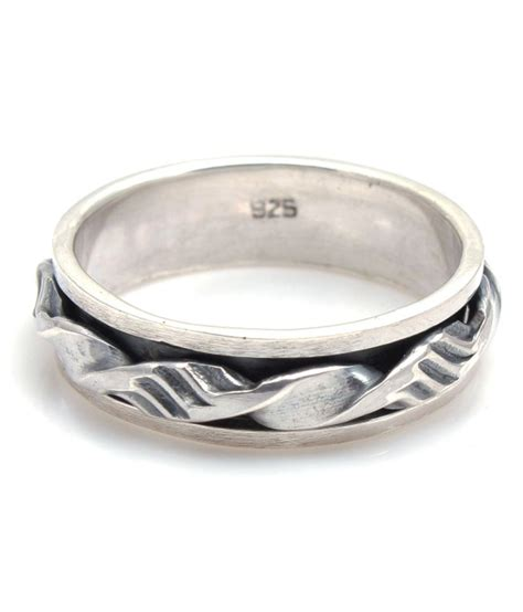 bl silver contemporary mens rings buy bl silver