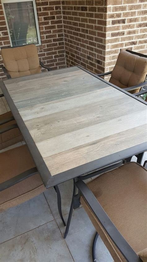 outdoor table top ideas best 20 glass table redo ideas on vintage