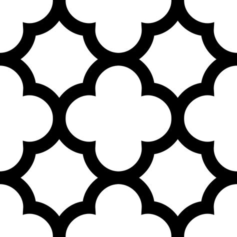 moroccan pattern png shapes clipart moroccan pencil and in color shapes