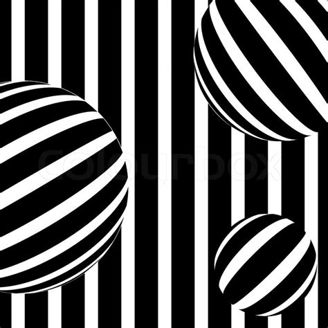 Illustration of abstract stripe background in black and