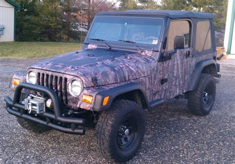 Camo Jeep Jeep Camo Wrap C Ely Signs Graphics