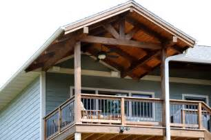 timber frame covered porch rustic porch other by jg development inc
