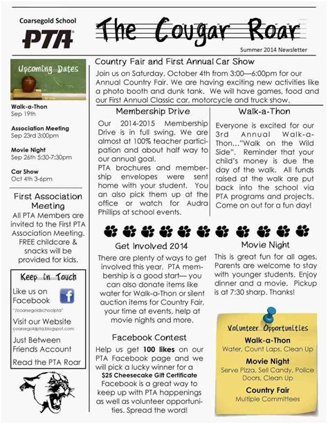 free school newsletter templates for word free editable newsletter templates for word mayamokacomm