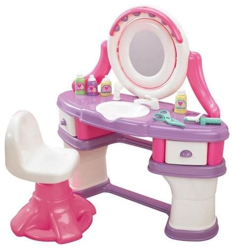 American Plastic Toys Vanity by American Plastic Toys Salon Vanity Eclectic Toys And By Hayneedle