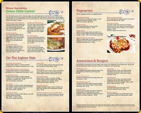 restaurant menu la mexican restaurant menu 402 489 3683 lincoln