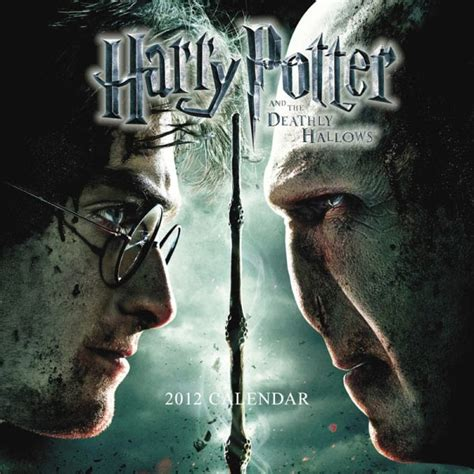 Pelicula Calendario 2012 Calendario 2012 Harry Potter Y Las Reliquias De La Muerte