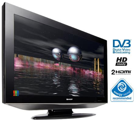 Tuner Tv Tabung Sharp sharp lc26ad5e 26 hd ready lcd tv with integrated digital tuner