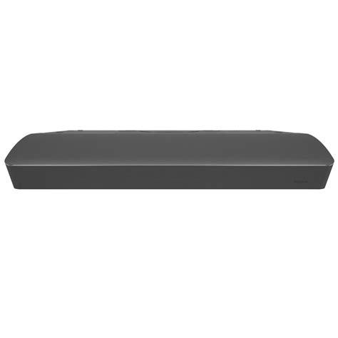 black stainless steel under cabinet range hood nutone mantra 30 in convertible range hood in black