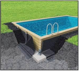 piscine en kit bois piscine en bois kit piscine bois prix discount