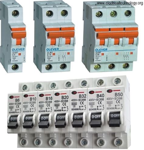 Miniature Circuit Breaker image gallery mcb
