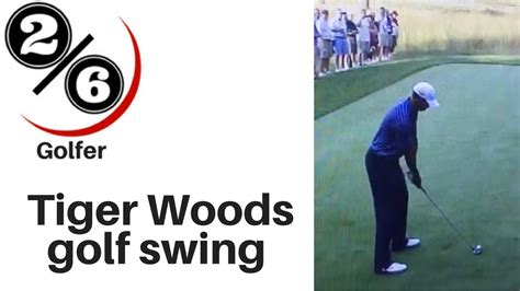 simple golf swing thoughts tiger woods golf swing 2 6 golfer youtube
