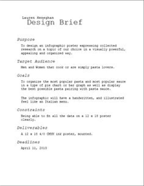 design brief elements design brief on pinterest briefs principles of design