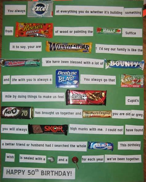 top 50 candy bars 50 candy cards google search arthritis pinterest