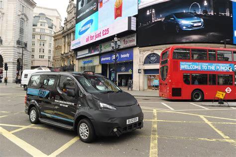 nissan nv taxi  london  summer  auto express