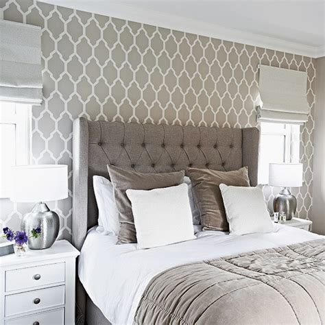 wallpaper in bedroom designer bedroom in hotel chic grey designer bedrooms