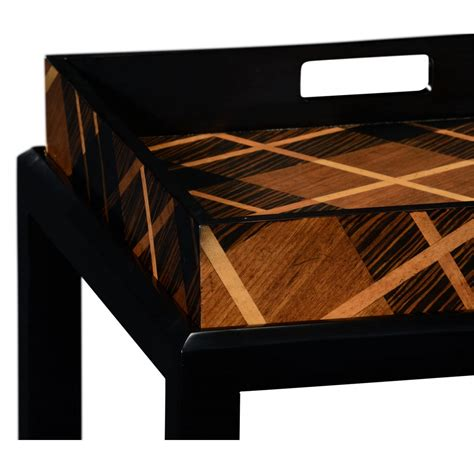 Julian Furniture by Tray Tables Tartan Butler Trays Swanky Interiors