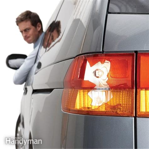 Tail Light Replacement Made Easy The Family Handyman How To Fix Lights
