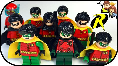 Lego Robin 3 lego robin minifigure batman dc heroes collection