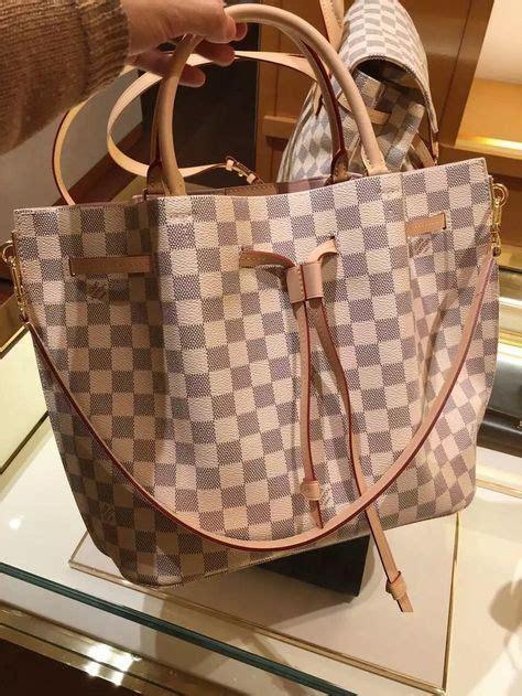 Tas New Mk Tote Bag Canvas Monogram louis vuitton damier azur girolata bag awesome
