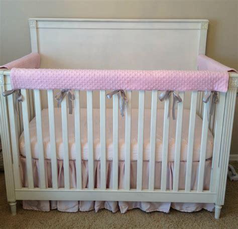 Padded Crib Rail Cover by Crib Rail Cover Crib Rail Pad Set Of 3 Create Your Own