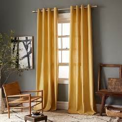 What Color Curtains Go With Red Walls The 25 Best Ideas About Yellow Curtains On Pinterest