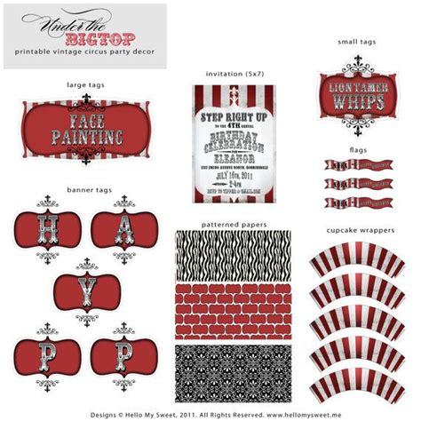 printable carnival party decorations 299 best circus theme birthday party images on pinterest