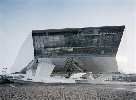 porsche museum architect museo porsche di stoccarda
