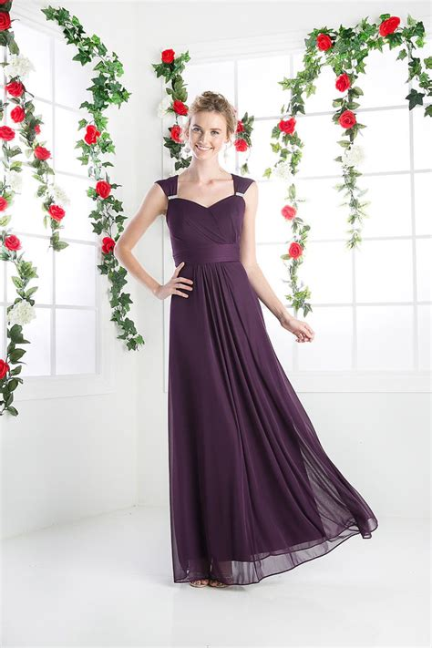 thedressoutlet length wedding bridesmaid dress