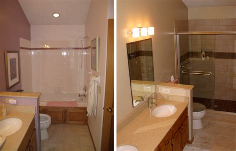 before and after bathroom remodels dbc extreme makeover making your house feel like home