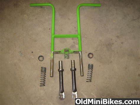 doodle bug mini bike front fork front fork shocks