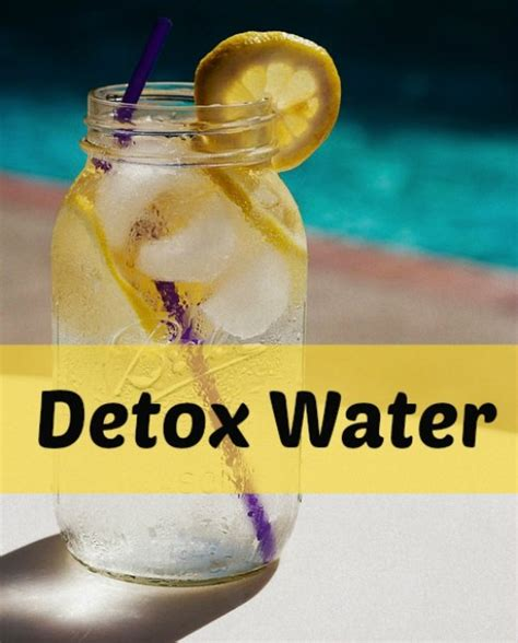 Detox Water Facts by Master Cleanse Lemonade Diet Review Ingredients