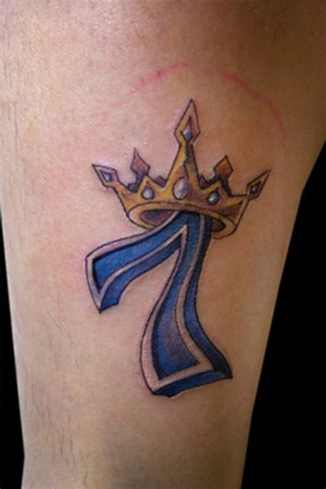 seven tattoo number tattoos designs ideas and meaning tattoos for you