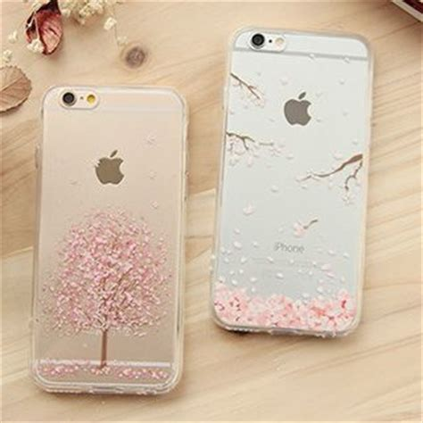 Iphone 6 6s Girly Korean Pink Soft Casing Cover Sarung Kesing buy casei colour iphone 6 iphone 6 plus cherry blossom