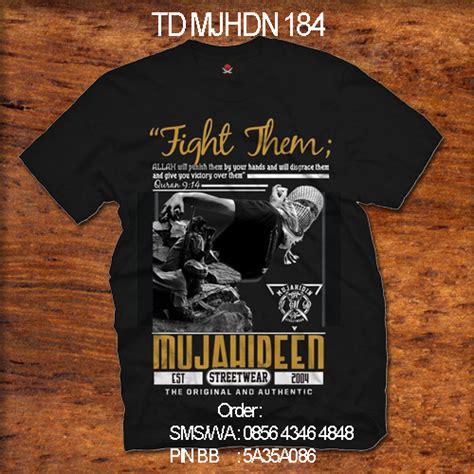 Baju Kaos T Shirt Distro Drawing White Wd40 kaos mujahidin mujahidin distro 0856 4346 4848