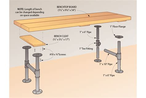 pipe bench diy build a bench coat rack from pipes my home my style