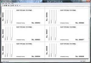 Templates For Tickets With Stubs by Free Printable Raffle Tickets With Stub Search