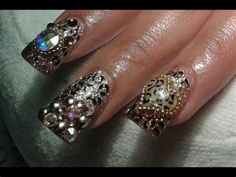 imagenes de uñas decoradas de leopardo 2015 u 241 as acrilicas paso a paso 2015 como hacer animal print