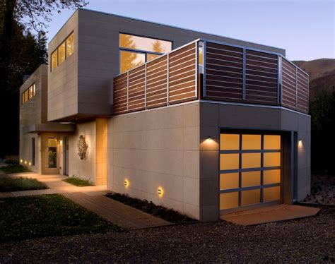 modern exteriors modern home exterior with warm lighting modern